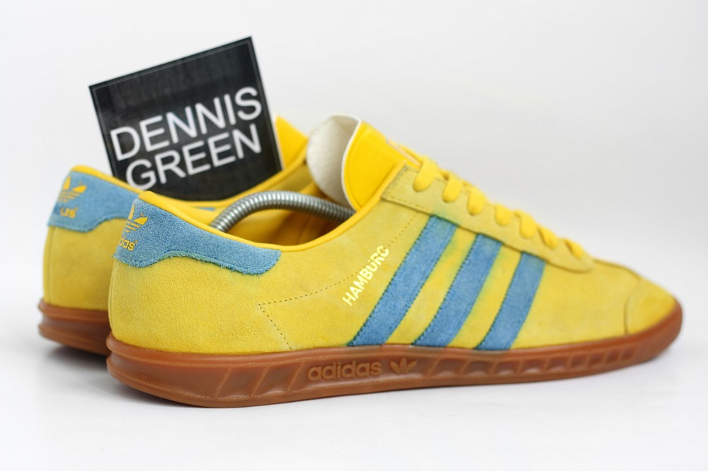 adidas originals yellow trainers
