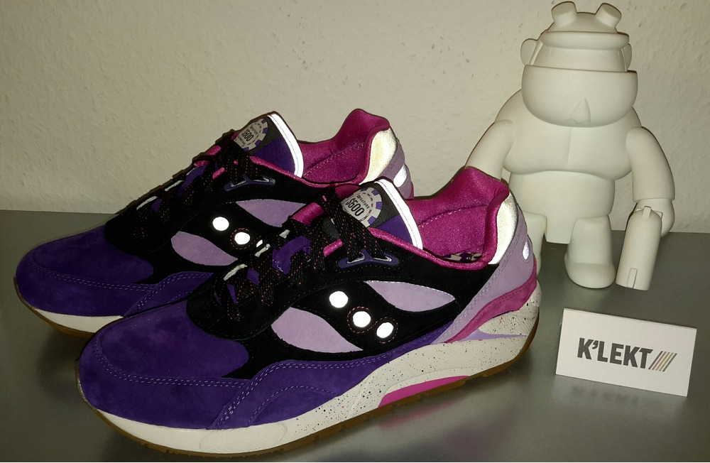 Saucony G9 Shadow 6 X Feature - The Barney - photo 1/6