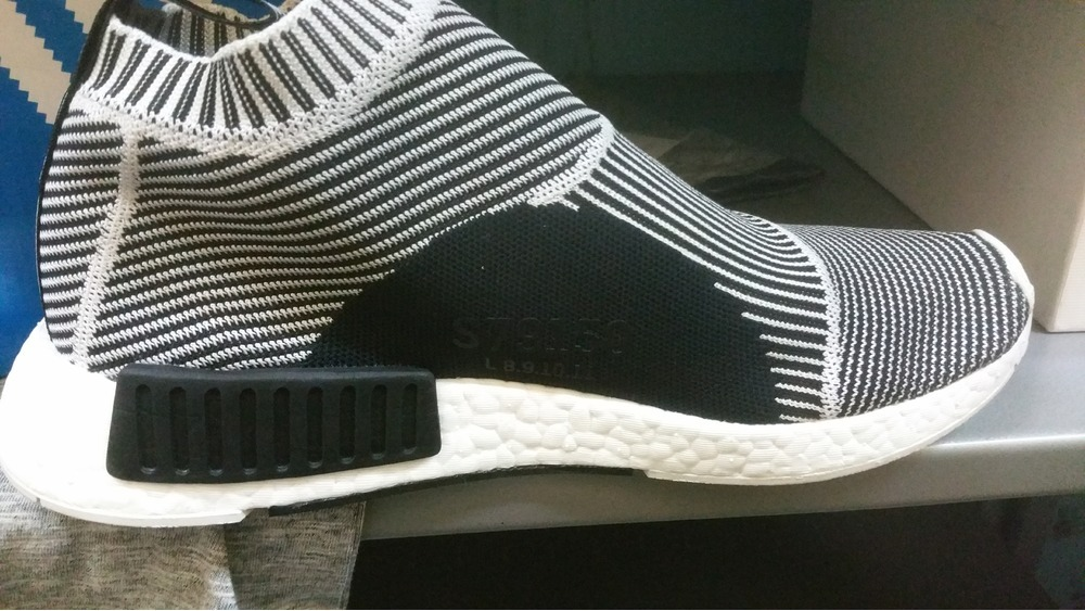 NMD City Sock PK Core Black Vintage White Sneaker Unboxing