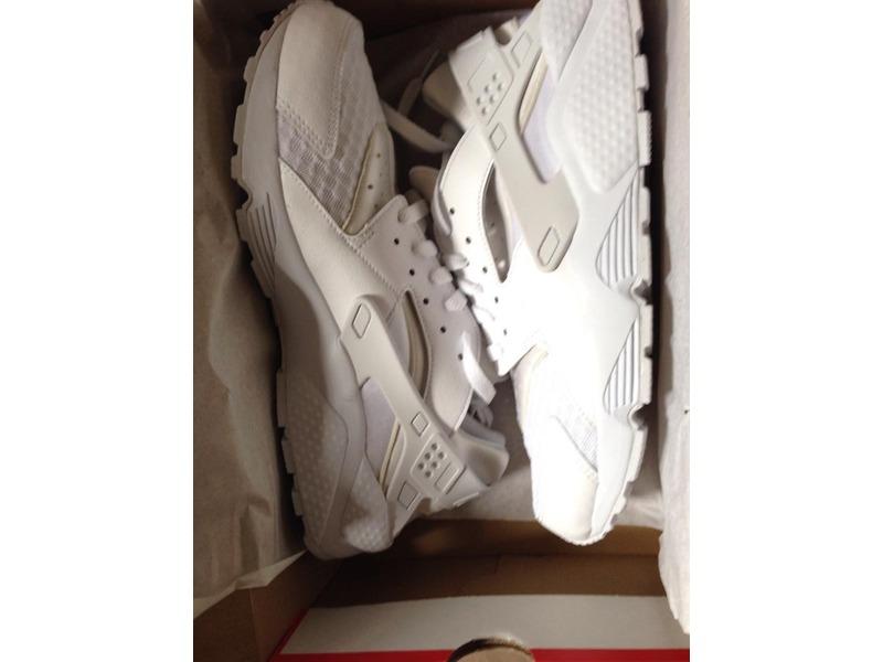 Huarache Nike White Platinum