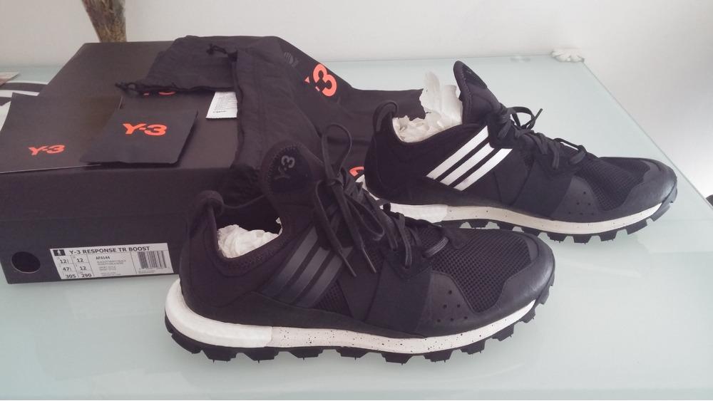 adidas Y-3 Yohji Run Boost Yohji Yamamoto (white / black) Free