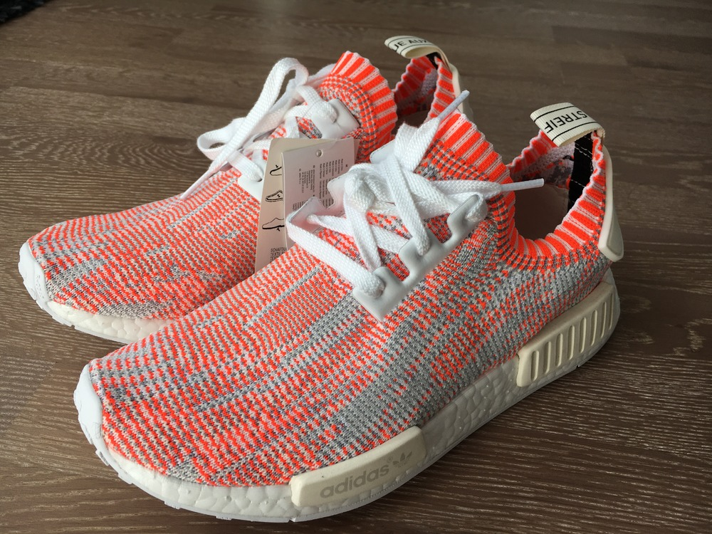 Adidas Beige Et Orange