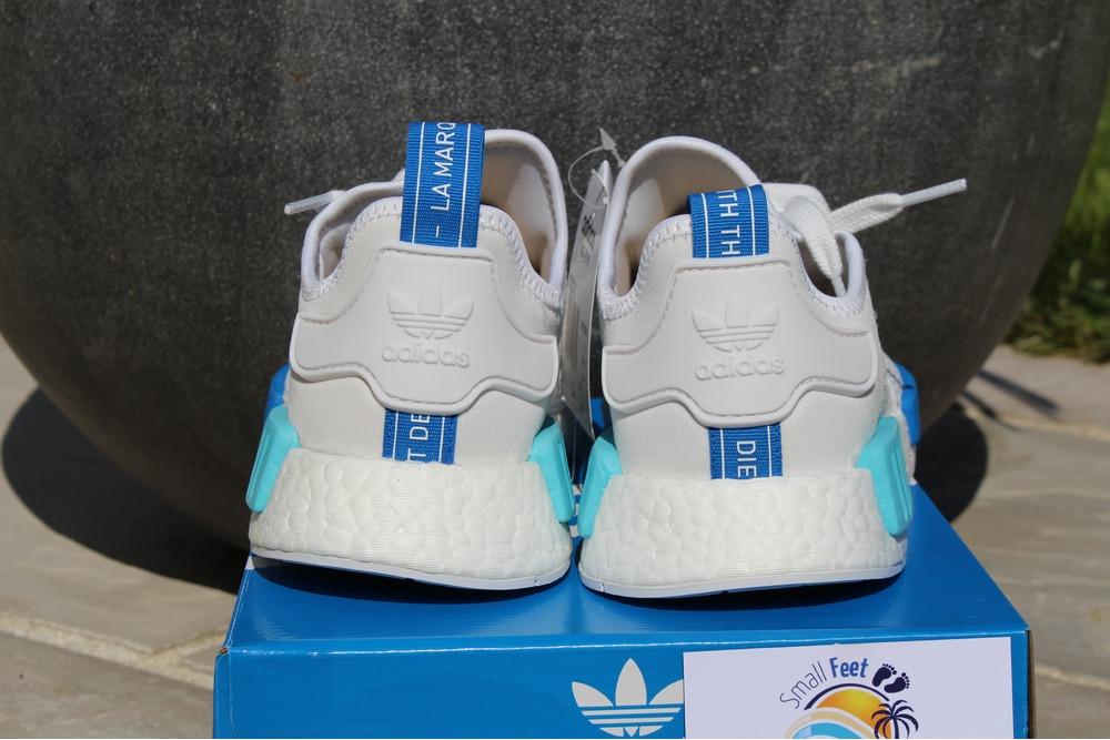 adidas nmd blue glow