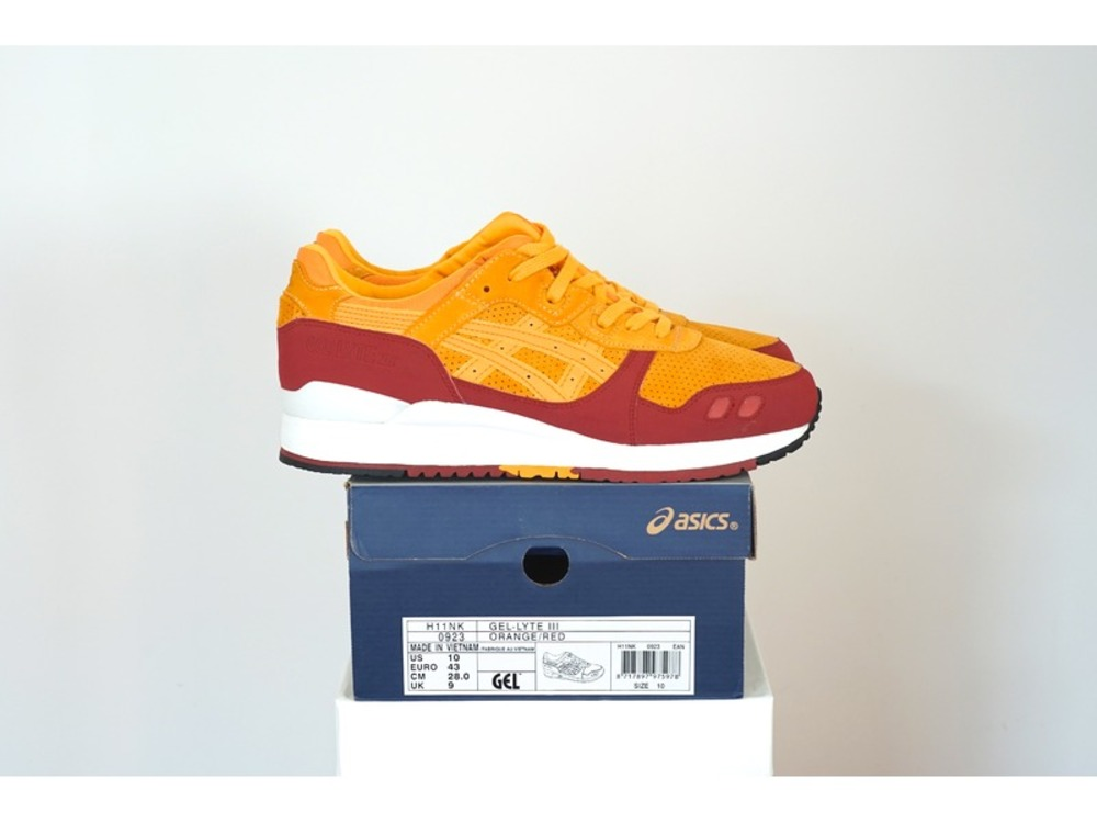 the best attitude f465d a8864 ... Asics Gel Lyte III x Hanon Wildcats US10 - UK9 - EUR43 - photo 1 ...