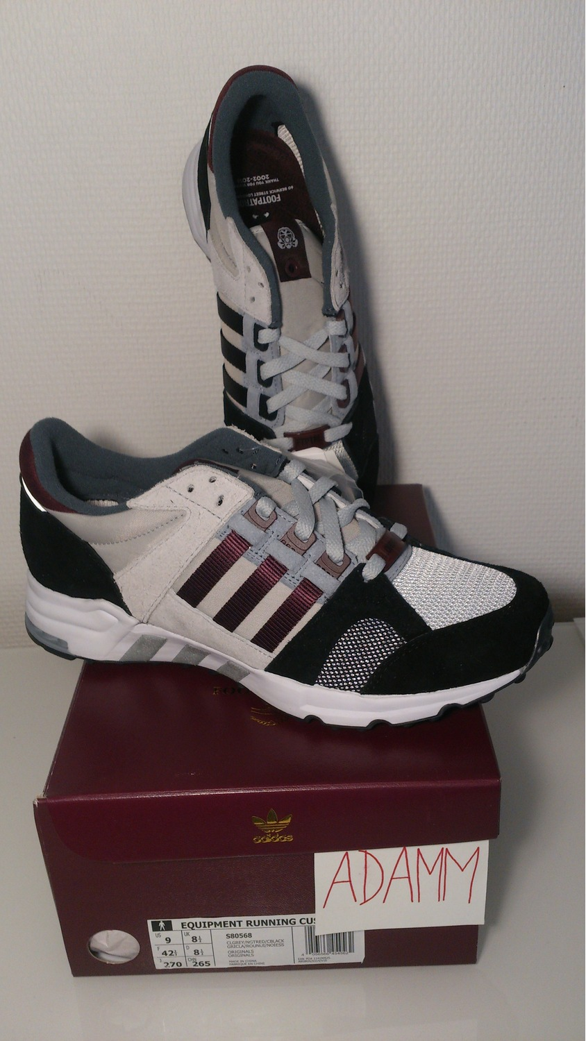 adidas Originals EQT Support ADV Men's Running Shoes Solid