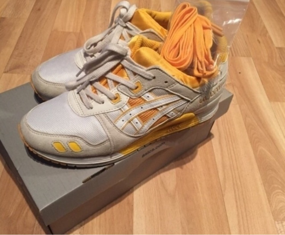 asics gel lyte 3 honey yellow