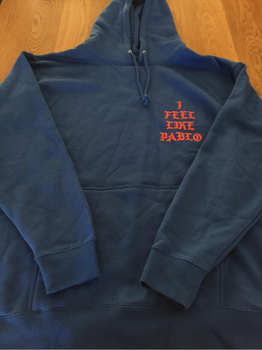 kanye west the life of pablo merchandise hoodie supreme. Black Bedroom Furniture Sets. Home Design Ideas