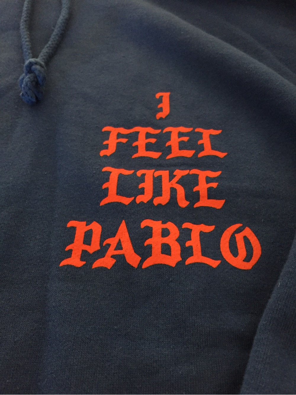 Kanye west the life of pablo merchandise hoodie supreme for Life of pablo merch