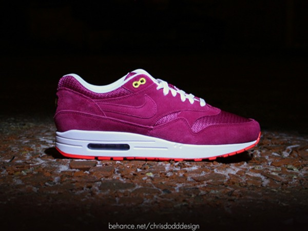 Nike air max 1 ID BARCA / BERLIN AIR MAX 1 US8 DEADSTOCK - ID OPTIONS NOW LONG GONE - photo 1/6