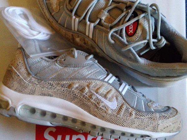 Supreme Nike Air Max 98 snakeskin 7.5 8.5 DS - photo 1/1