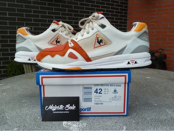 HIGHS & LOWS x LE COQ SPORTIF R1000 SWAN PACK Size US9 Patta - photo 1/7