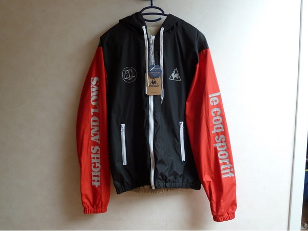 """Le Coq Sportif Hal Reversible Jacket """"Swan Pack"""" Patta Parra - photo 1/6"""