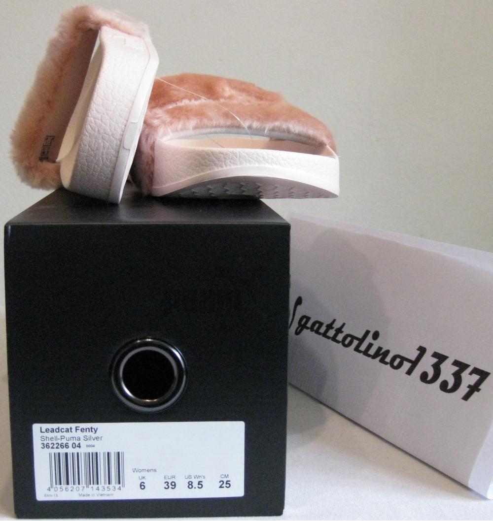 puma leadcat fenty fur slide for sale