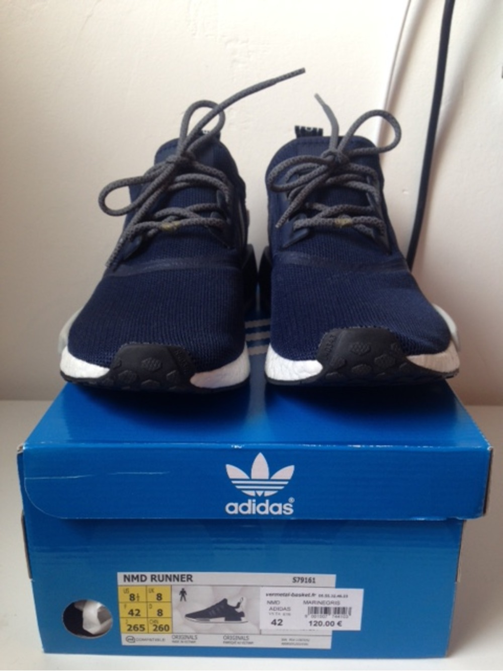 adidas nmd boost navy