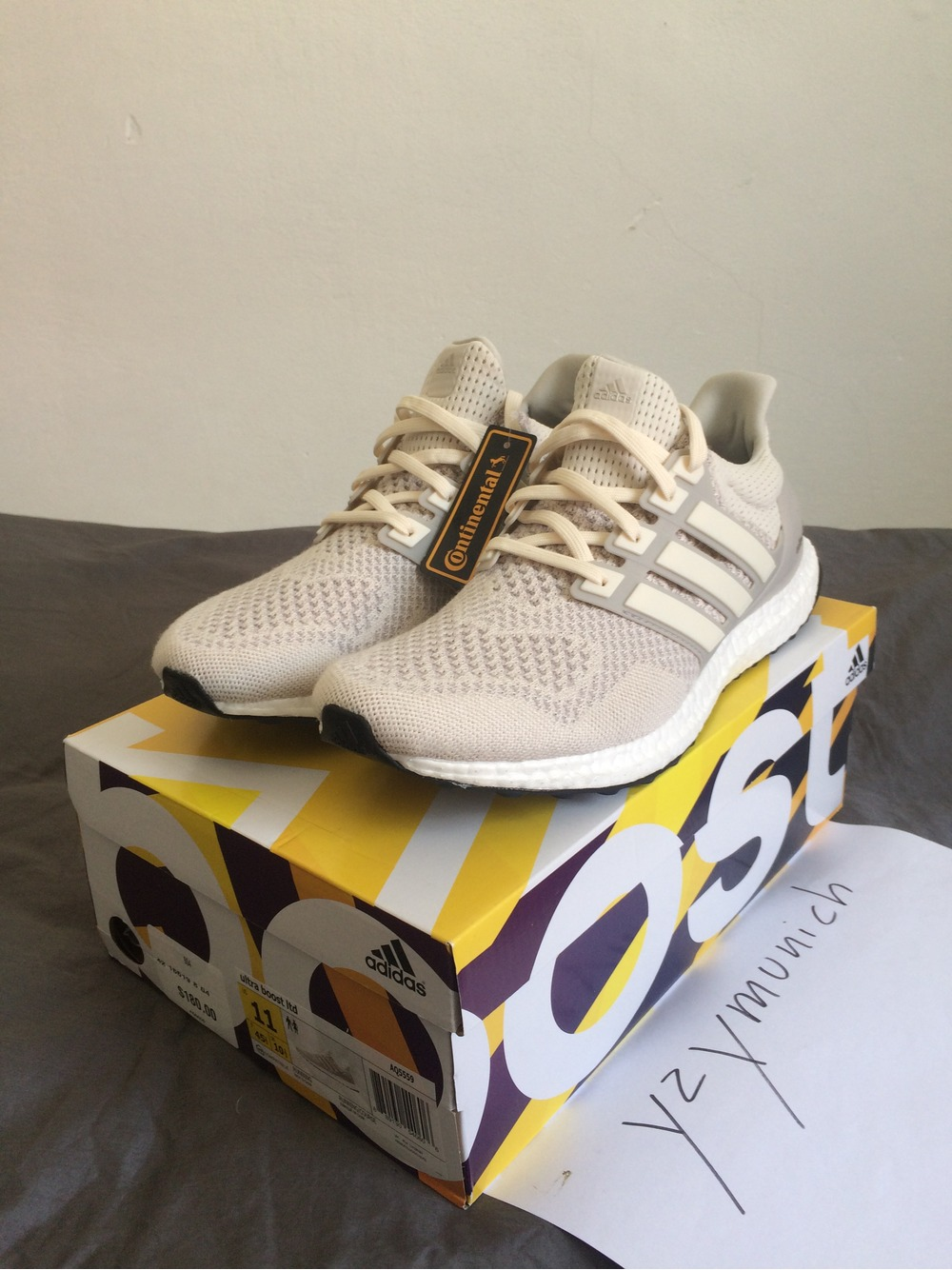 Adidas Ultra Boost Ltd Cream Chalk