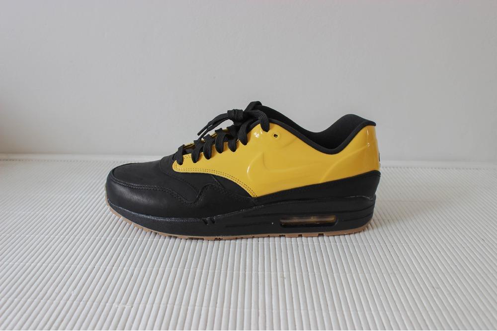 nike air max 1 black yellow