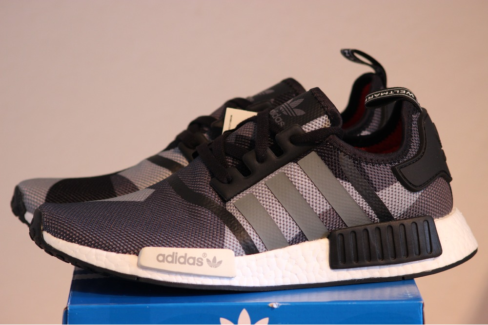 Lovely ADIDAS NMD R1 Black Mens Shoes Trainers U53n4105