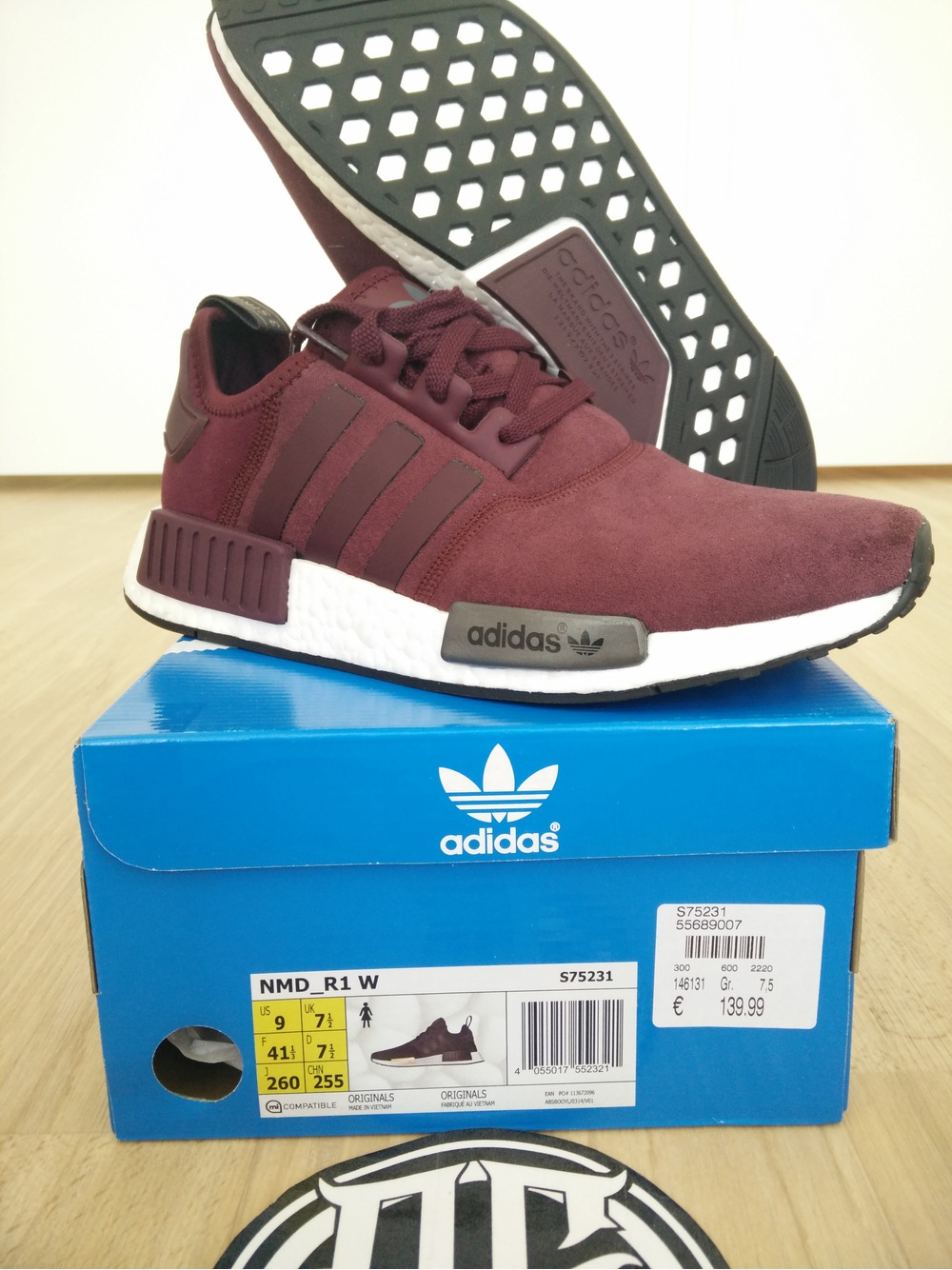 adidas 41 1/3 in us