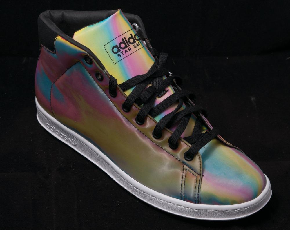 adidas stan smith 80s mid lenticular rainbow