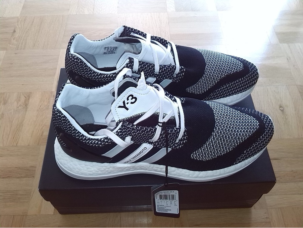 Adidas Pureboost Zg Ltd Mens Running Shoe Size