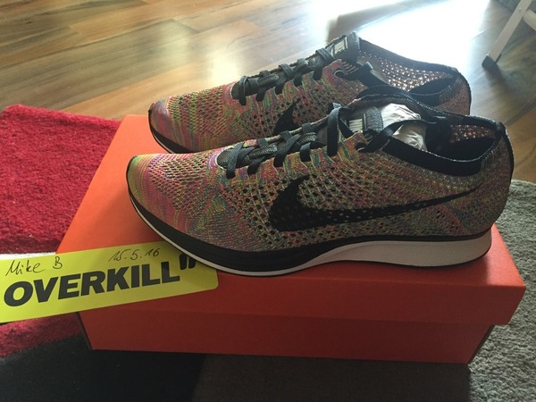 Nike Flyknit Racer 3.0 Multicolor DS US7,5 - photo 1/2