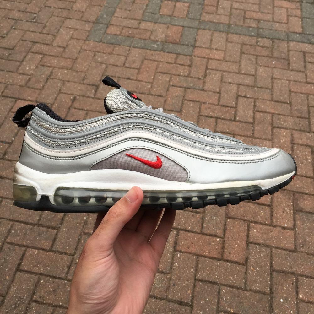 Cheap Nike Air Max 97 Ultra Boys' Grade School Running Shoes Noble
