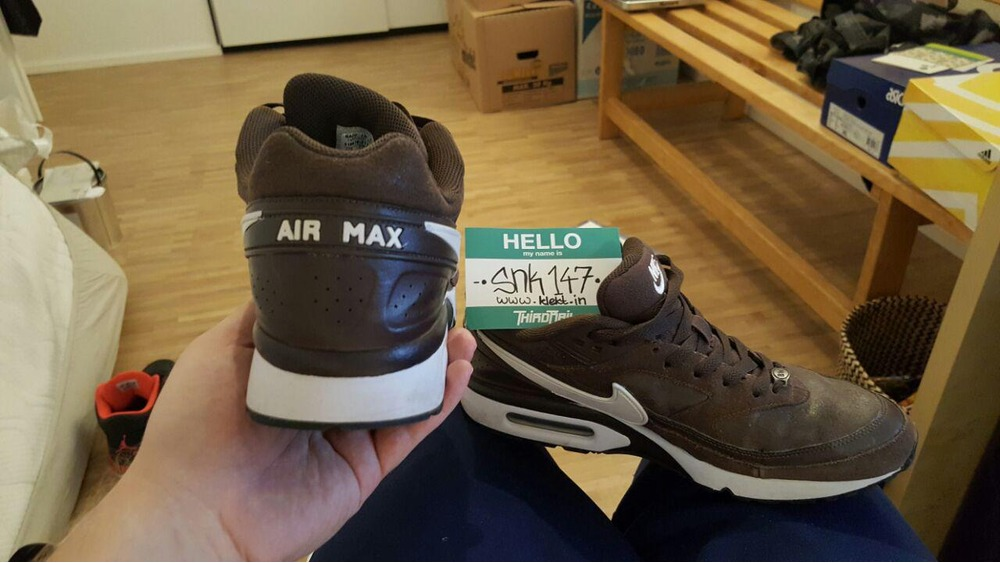 nike air max classic bw baroque brown