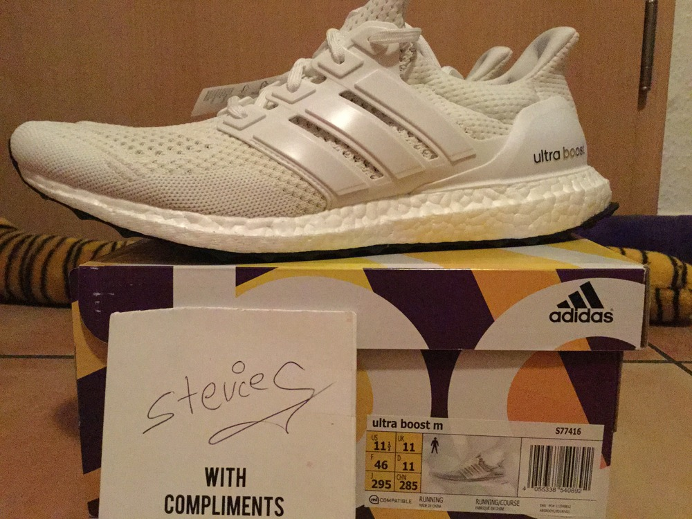 Adidas Ultra Boost Triple White Key City Pack