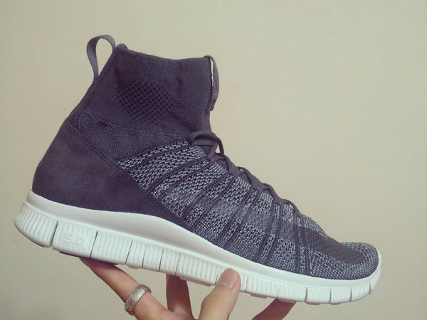 Nike Free Flyknit Mercurial Superfly HTM SP Grey US10 - photo 1/3