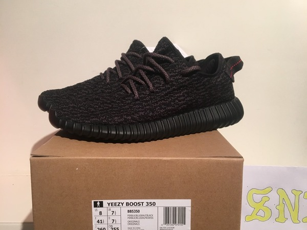 Adidas Yeezy Boost 350 Pirate Black 2.0 8US DS 2016 - photo 1/6