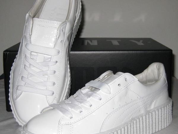 Rihanna x Puma Creepers Basket Glo White - photo 1/6