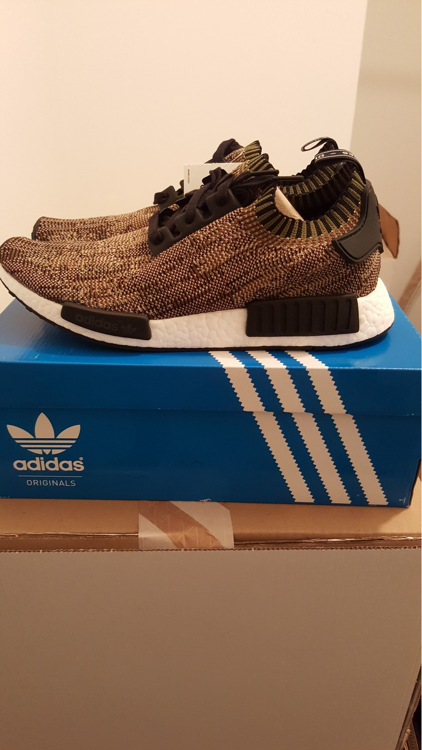 I copped Triple Black Xr1 NMD and Livestock PureBOOST Early