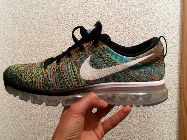 Nike flyknit max multicolor - photo 1/2