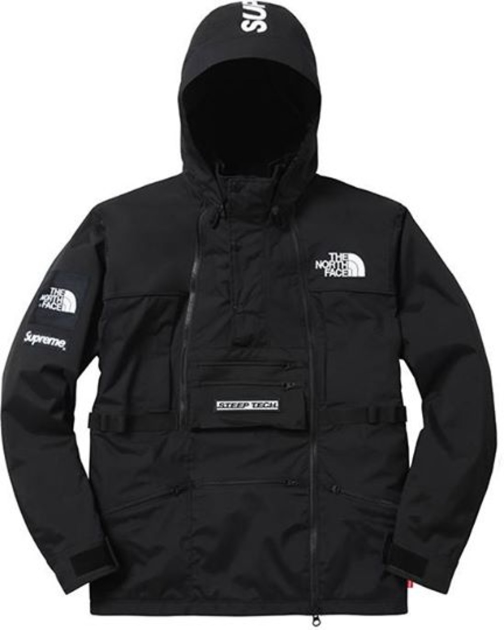 supreme x the north face tnf steep tech jacket l 376117 from pebeef at klekt. Black Bedroom Furniture Sets. Home Design Ideas