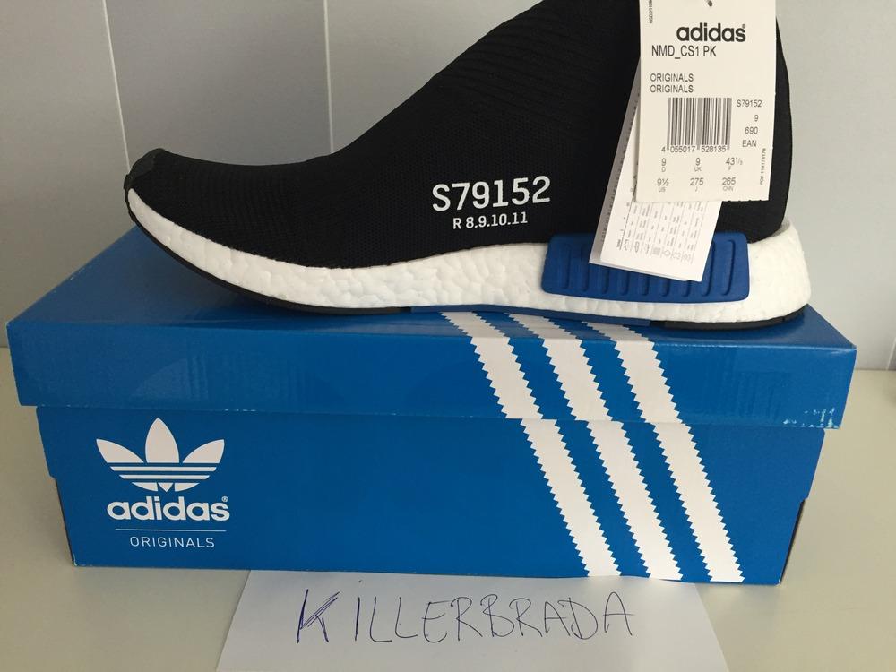 Adidas Nmd_cs1 Pk Core Black/Core Black/Lush Blue S16