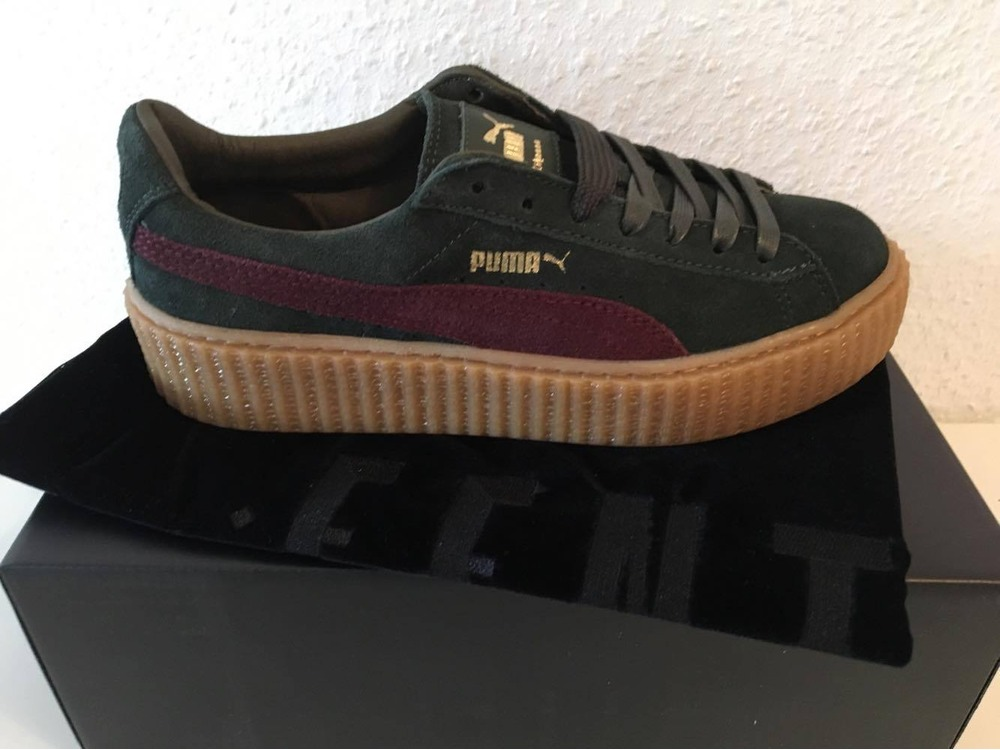 puma fenty creepers green. Black Bedroom Furniture Sets. Home Design Ideas