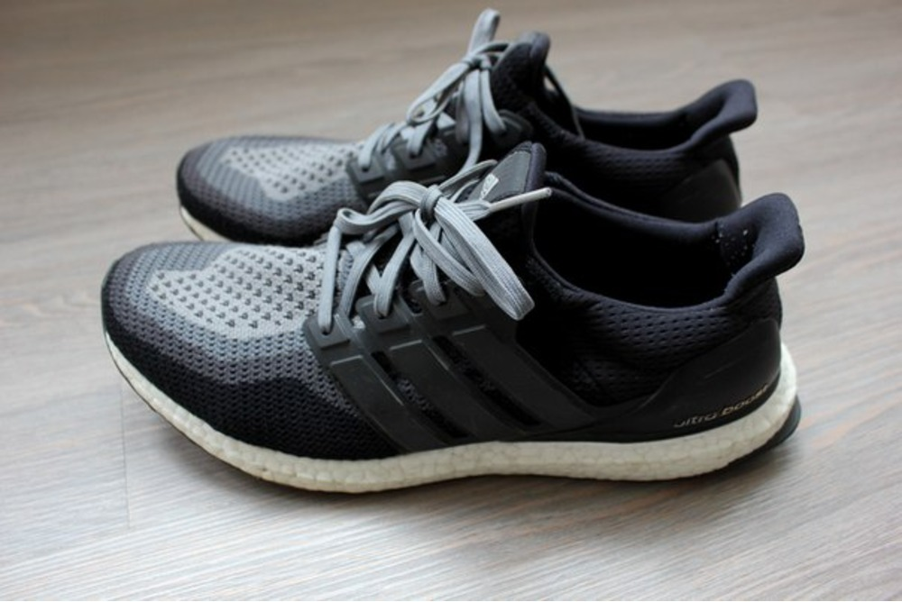 Adidas Ultra Boost Black And Grey