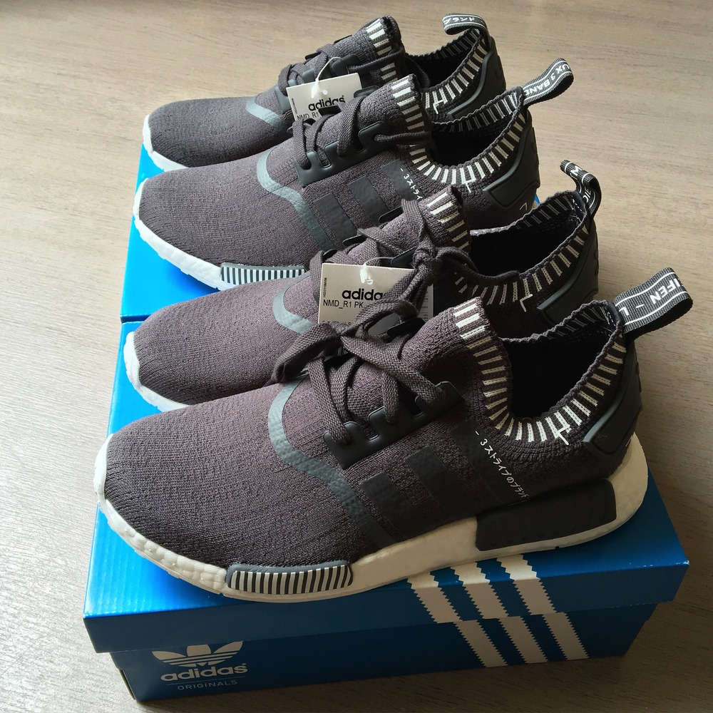Adidas nmd r1 w Grey/Pink Loose Cannon Flagship