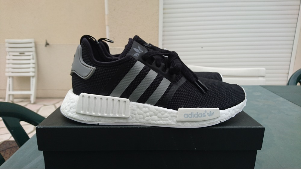 Adidas NMD R1 PK primeknit Camo pack blanco negro 2perfection