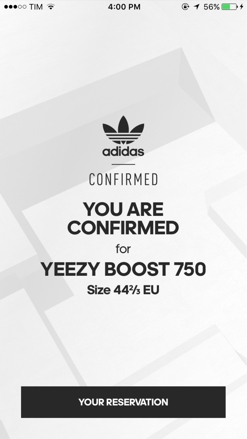 yeezy boost adidas confirmed