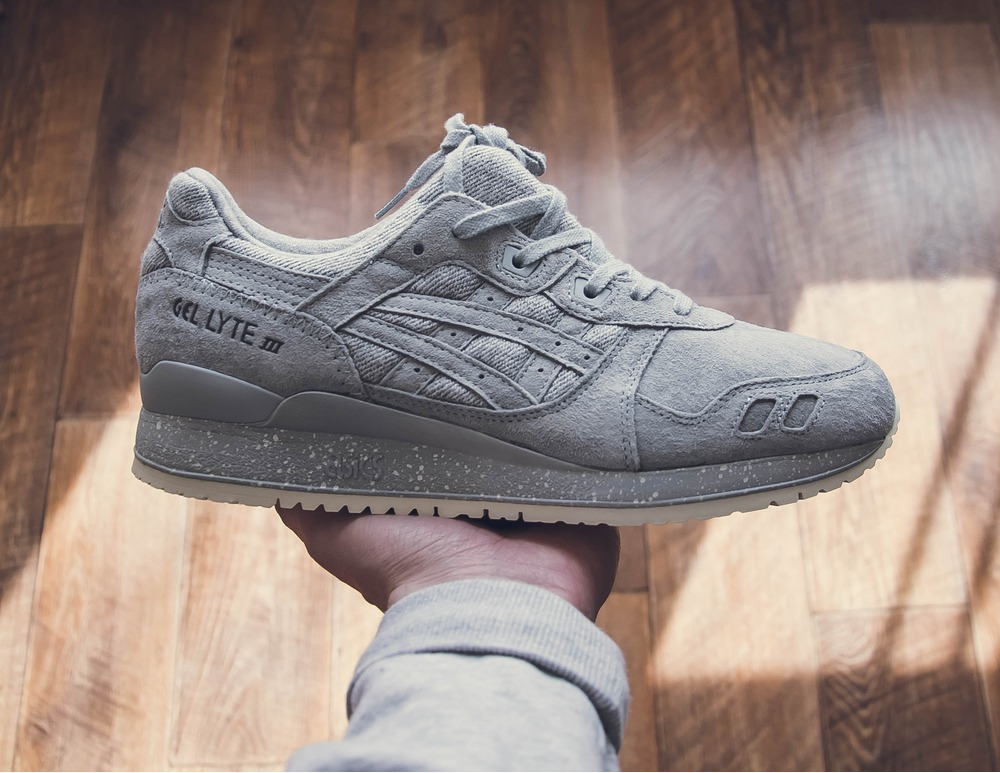 Reigning Champ x ASICS GEL Lyte III Grey us10.5