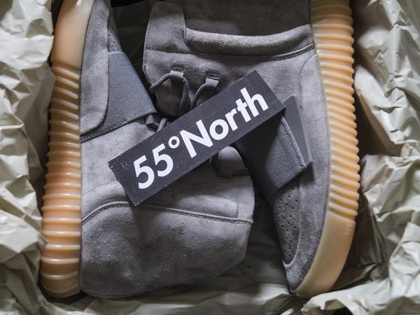 Adidas Yeezy 750 Yeezy Boost 750 Grey Gum Glow - photo 1/5