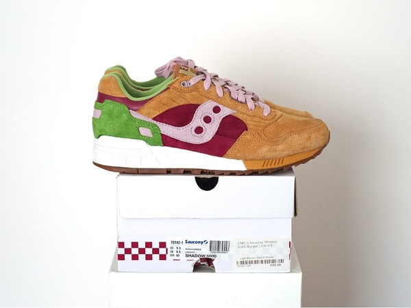 Saucony Shadow 5000 x End Clothing Burger US9.5 - UK8.5 - EUR43 - photo 1/1