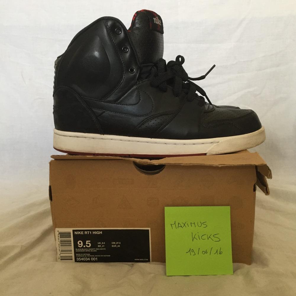 ... Nike RT1 High BlackBlack-Varsity Red US9.5 - photo 3 ... c9626779a