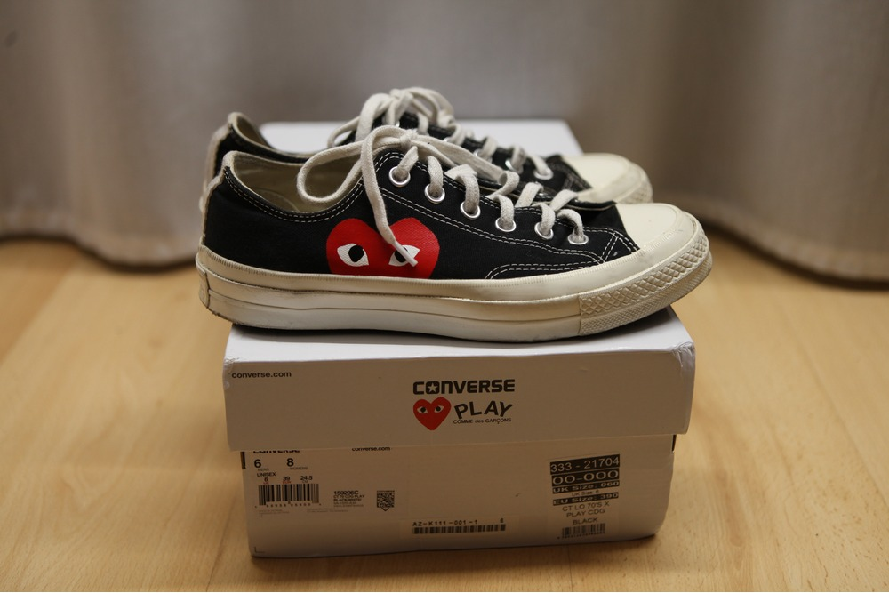 converse x cdg low