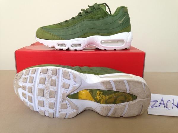 Nike Airmax 95 Stussy US8 - photo 1/2