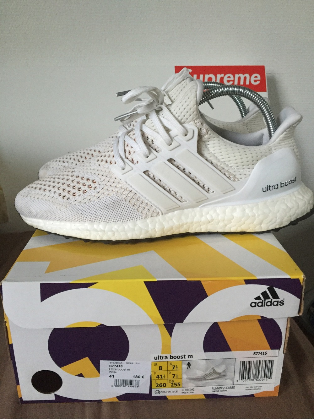 Adidas Ultra Boost White Dirty