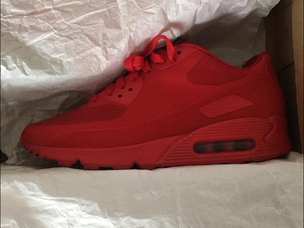 Nike AIRMAX90 INDEPENDENCE DAY RED - photo 1/3