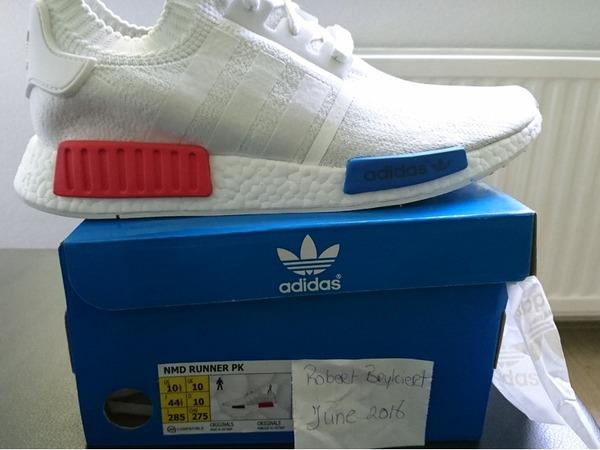 Adidas nmd OG us10.5 ds - photo 1/2