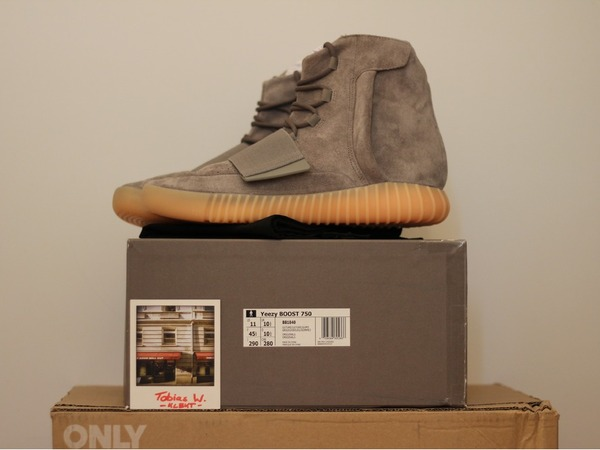 Adidas Yeezy Boost 750 DS US11 - photo 1/7